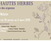 Affiche expo Hautes Herbes, de Caroline MUHEIM