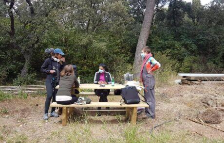 Atelier jardinage à la cité U de La Colombière - 09.04.21